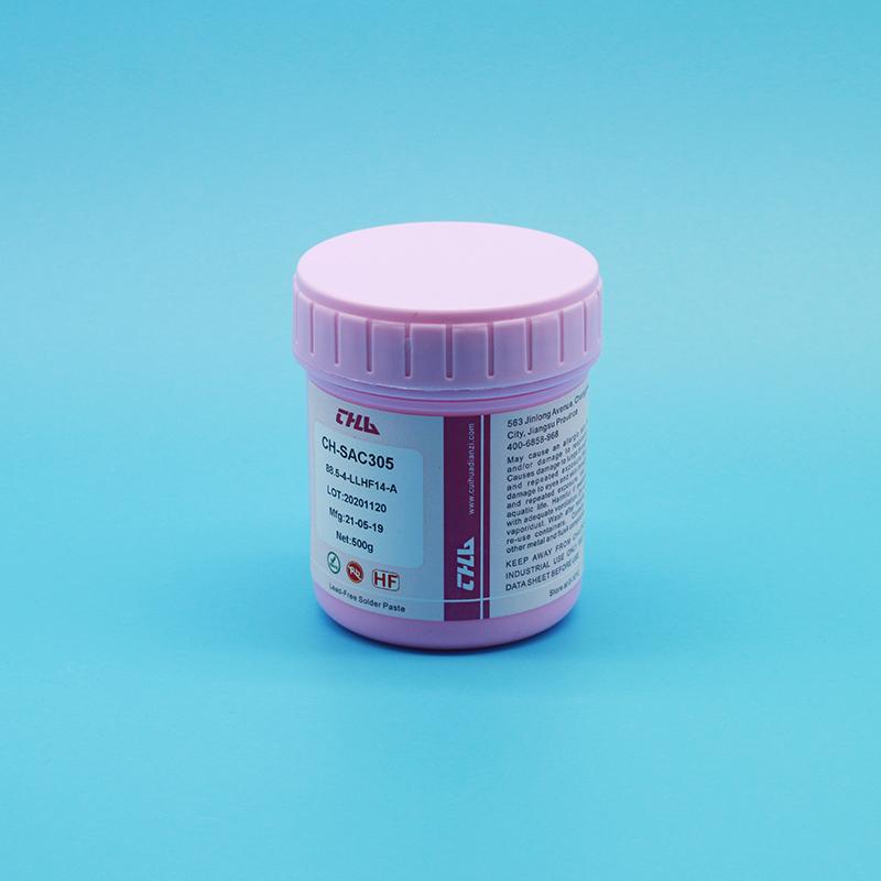 萃华点胶专用大功率倒装芯片固晶锡膏CH-SAC305X